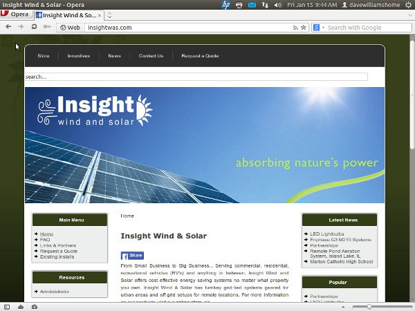 Insight Wind and Solar